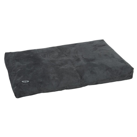 Buster Memory Foam Dog Bed In Grey 120x100cm