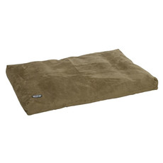 Buster Memory Foam Dog Bed In Olive 120x100cm
