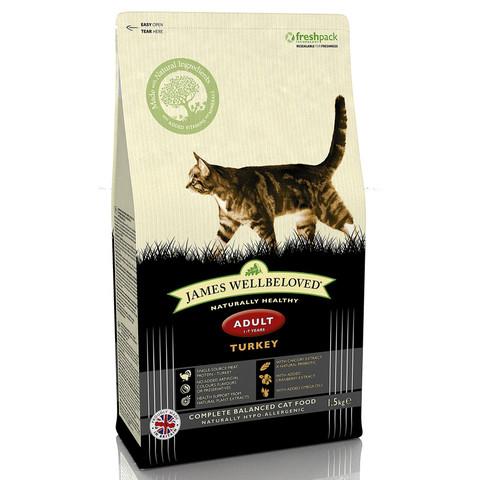 James Wellbeloved Adult Cat With Turkey 1.5kg To 10kg