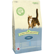James Wellbeloved Adult Light Cat With Fish 1.5kg