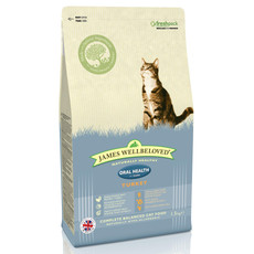 James Wellbeloved Oral Health Adult Cat With Turkey 1.5kg To 4kg