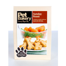 Pet Bakery Sunday Roast Bones Shortbread Dog Treats 240g