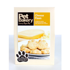 Pet Bakery Cheese Paws Shortbread Dog Treats 240g