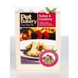 Pet Bakery Turkey And Cranberry Bones Shortbread Dog Treats 240g