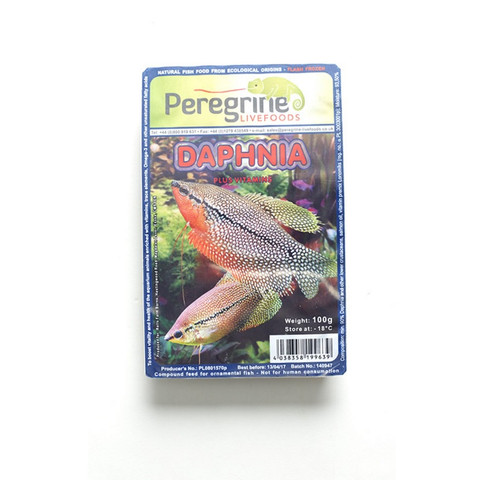 Peregrine Livefoods Frozen Blister Pack Daphnia 100g