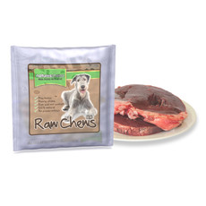 Natures Menu Frozen Half Beef Heart Raw Chews For Dogs 500g