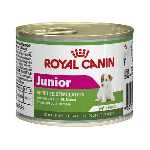 Royal Canin Junior Wet Dog Food 12 X 195g
