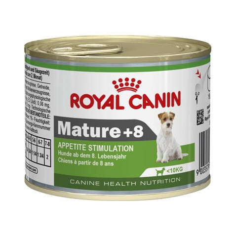 Royal Canin Mature +8 Wet Dog Food 12 X 195g