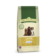 James Wellbeloved Junior With Lamb And Rice 2kg To 15kg