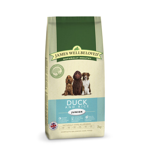 James Wellbeloved Junior With Duck And Rice 2kg To 15kg