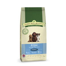 James Wellbeloved Puppy With Fish And Rice 2kg To 2 X 15kg