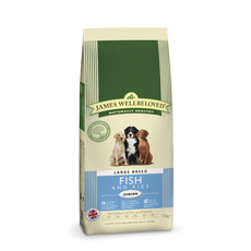 James Wellbeloved Junior Large Breed With Fish And Rice 15kg