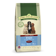 James Wellbeloved Adult Large Breed With Fish And Rice 4kg To 2 X 15kg