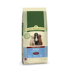 James Wellbeloved Adult Large Breed With Fish And Rice 15kg