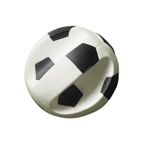 Gor Pets Vinyl Super Soccer Ball Toy Easy Grip 19.5cm