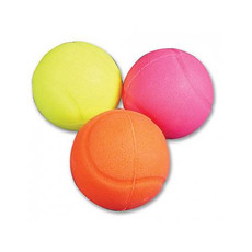 Vinyl Neon Glow Ball Dog Toy