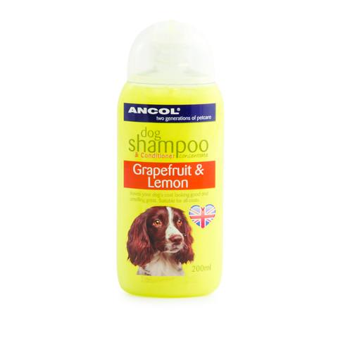 Ancol Lemon And Grapefruit Dog Shampoo 200ml To 6 X 200ml