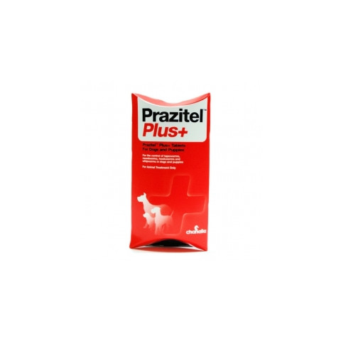 Prazitel Plus Dog Worming Tablets 1 Tablet