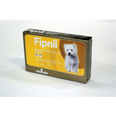 Fipnil Spot-on Solution Dog 67 Mg For Small Dogs And Puppies 2kg - 10kg 3 Pipettes