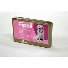 Fipnil Spot-on Solution Dog 268 Mg For Large Dogs And Puppies 20-40kg 3 Pipette