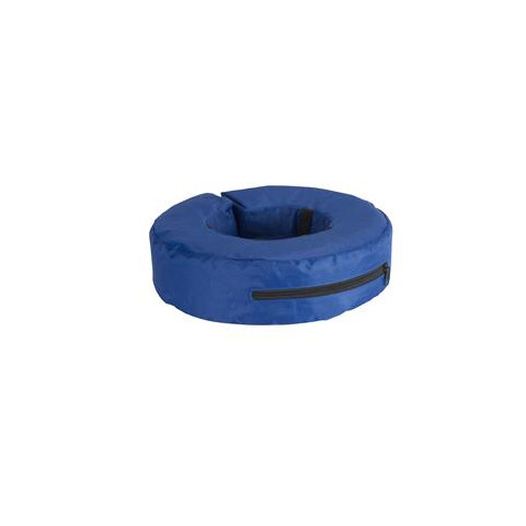 Buster Blue Inflatable Dog Veterinary Collar Small
