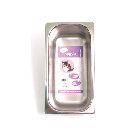 Rosewood Options Stainless Steel Chinchilla & Degu Sand Bath