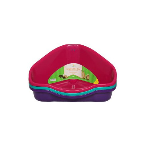 Walter Harrisons Small Animal Corner Toilet Litter Tray Large To 3 X Large