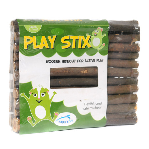 Happy Pet Wooden Playstix Small Animal Hideout Bridge Large