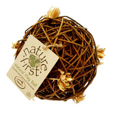 Happy Pet Nature First Willow Play Ball Large