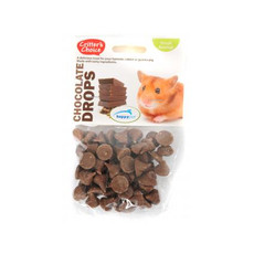 Happy Pet Critters Choice Small Animal Chocolate Drops Treat 75g