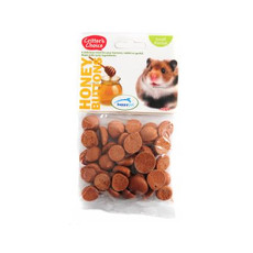 Happy Pet Critters Choice Small Animal Honey Buttons Treat 40g To 6 X 40g