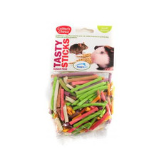 Happy Pet Critters Choice Small Animal Tasty Sticks Treat 75g To 6 X 75g