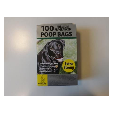 Premium Fragranced Doggy Poo Bags 100 Bags
