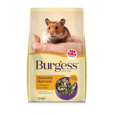 Burgess Supa Hamster Harvest Food 750g