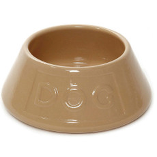 Mason Cash Non Tip Ceramic Lettered Spaniel Bowl 8 Inch