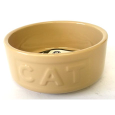 Mason Cash Original Cane Lettered Ceramic Cat Bowl 5 Inch