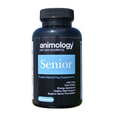 Animology Senior Natural Dog Supplement 60 Tablets