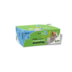 Van Ness Drawstring Cat Litter Cat Pan Liners Value Pack Extra Giant 15 Pack