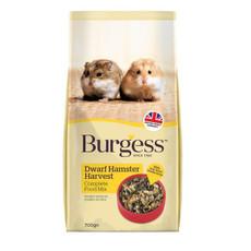 Burgess Supa Dwarf Hamster Harvest Food 700g