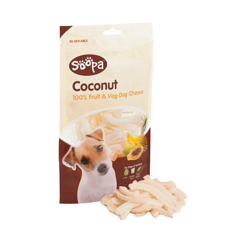 Soopa 100% Natural Coconut Dog Chews 100g