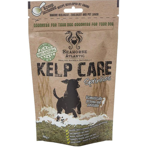Seahorse Atlantic 100% Natural Kelp Care For Dogs 80g