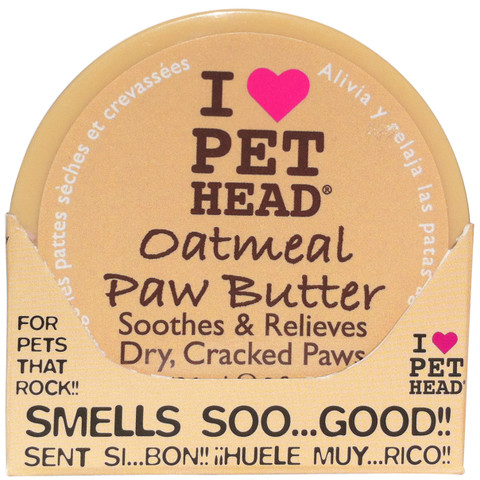 Pet Head Oatmeal Natural Paw Butter Cream