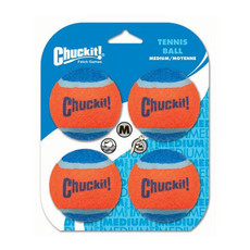 Chuckit! Tennis Balls 4 Pack Dog Toy
