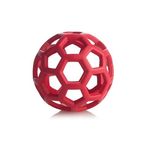 Jw Pet Hol-ee Roller Ball Durable Rubber Dog Toy 3.5 Inch