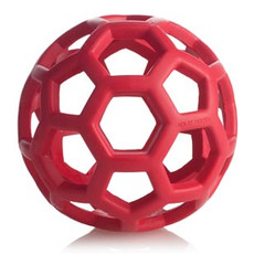 Jw Pet Hol-ee Roller Ball Durable Rubber Dog Toy 5 Inch