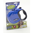 Ancol Viva Blue Extending 5 Metre Tape Dog Lead Medium