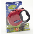 Ancol Viva Red Extending 5 Metre Tape Dog Lead Large