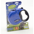 Ancol Viva Blue Extending 5 Metre Tape Dog Lead Large