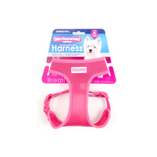 Ancol Comfort Fit Mesh Dog Harness In Pink Medium