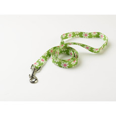 Yellow Dog Design Floral Green Daisy Dog Lead 48